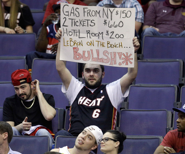 Look at this Heat fan who agrees the season is too long.