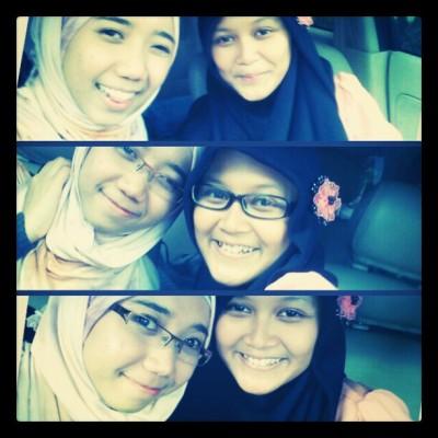 #hangout #bestfriend #photooftheday #bestfriend instagood #instaphoto #instadaily #ig hijab #girls #smile with @uqaa_ Cc: @rulachan @anestyadevi