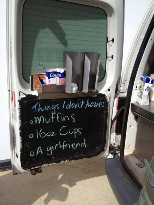 Ballad of a coffee van guy…