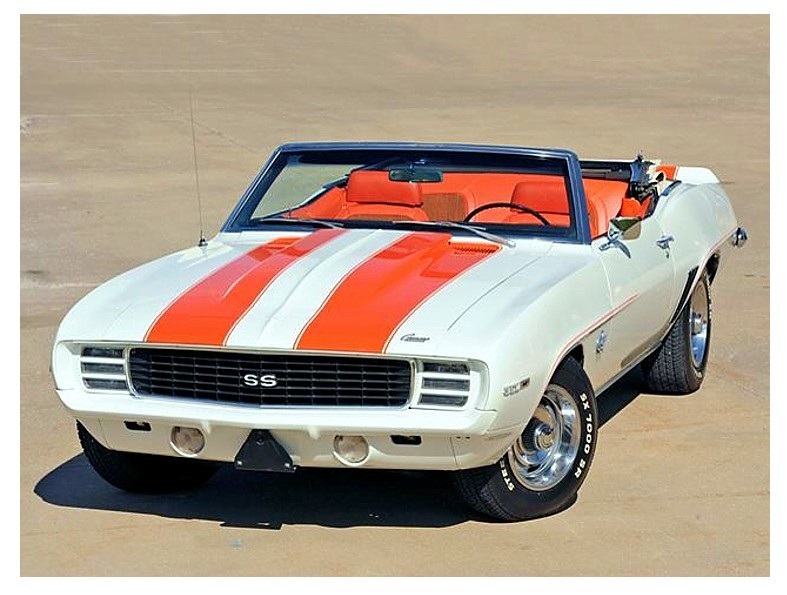 Pace Car… 1969 Z-11 SS/RS Camaro convertible