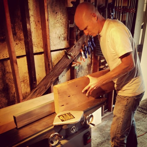 The new jointer is amazing! @willspro (at RDesign Woodshop)
