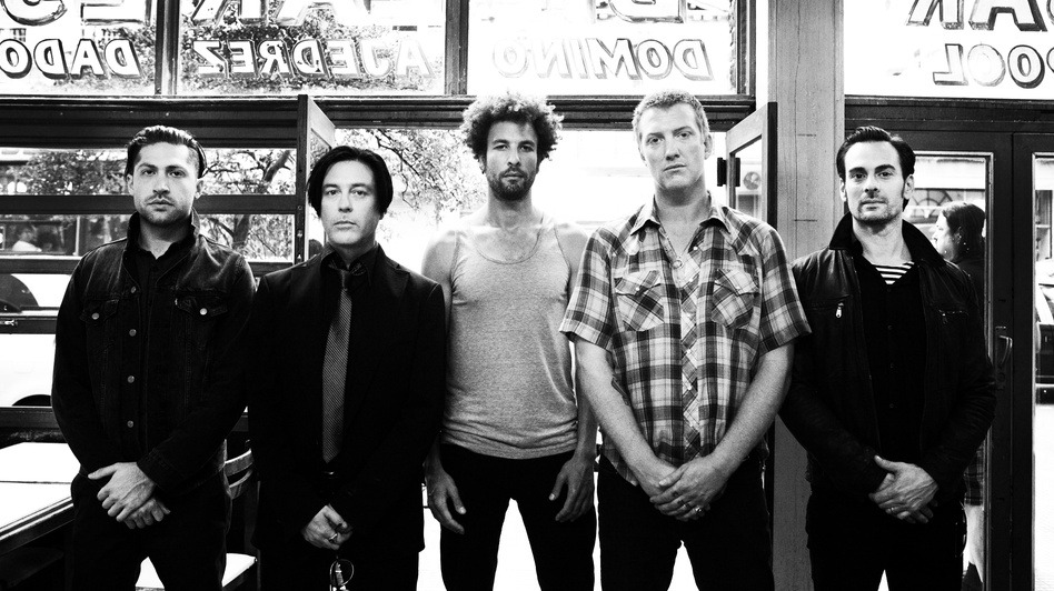 nprmusic:  First Listen Live! Watch Queens of the Stone Age perform …Like Clockwork in its entirety, then tackle an assortment of older material, in a sold-out show at The Wiltern in Los Angeles on May 23. Photo: Nora Lezano