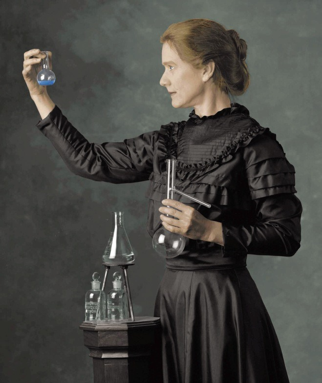 Marie Curie (1867-1934)Nobel Prize in Physics and Chemistry, for her work with the ratiation phenomena and the discovery of 2 new elements (polonium and radium). First person who got 2 Nobels, and the first woman to be awarded it.Considered one of the most important minds in modern science.I'm a fan of her :)