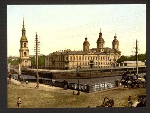picturesque-russia:  Петербург начала XX в. в цвете (раскрашенные фотографии)