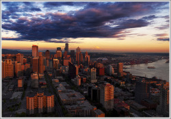 seattle-wa:  Seattle Cityscape by Peter Macdonald Photo on Flickr.