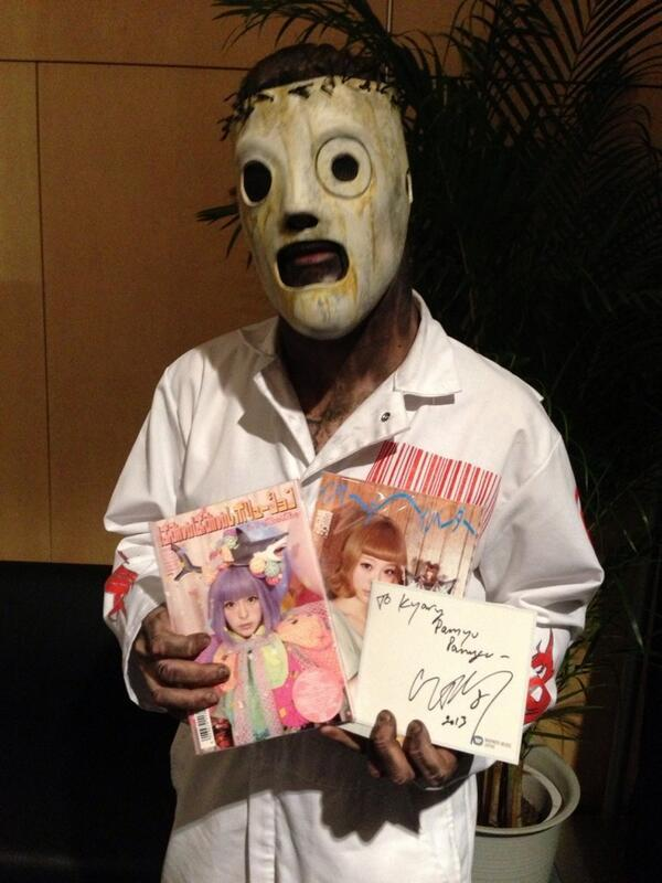 karrablast:  this is the lead singer of slipknot and a real picture that exists