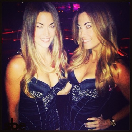 Ahh yes!! ~ double trouble - the good kind~ #Tuesday. #TheEmerson @beckyodonohue @jessieodonohue #sbeFam #hollywood @memphisgarrett #Bestofthebest #twins
