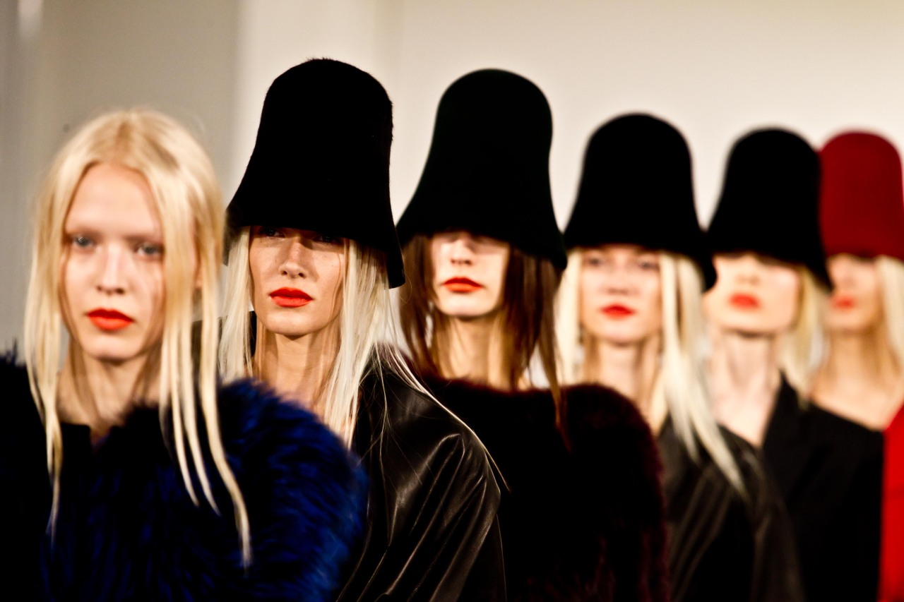cloche hats. photo by Xavi Menós.