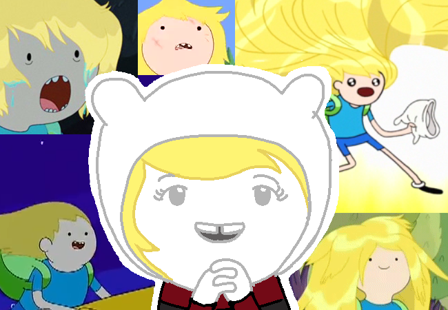 tentativeundertaker:  adventure time fandom thinkin about finn's hair for fandomstuck