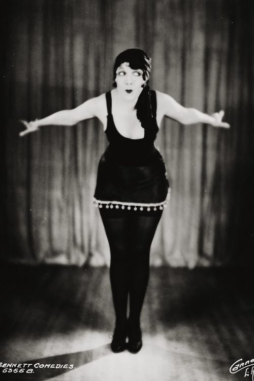 Carmelita Geraghty in a promotional photo for The Mack Sennett Comedies c. 1926