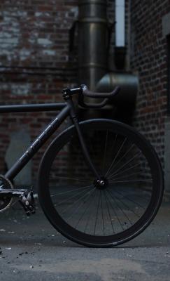 black matte bike bicycle Matte Black tenspeed