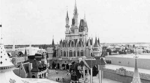 Opening day WDW Magic Kingdom - 1971