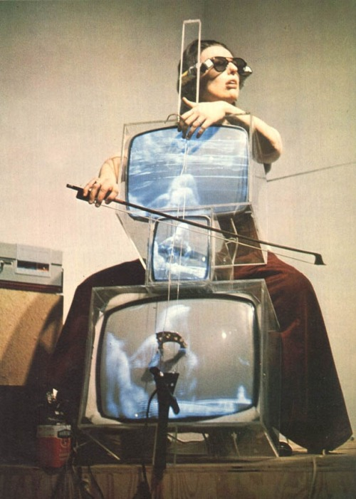 Nam June Paik TV Cello, 1971