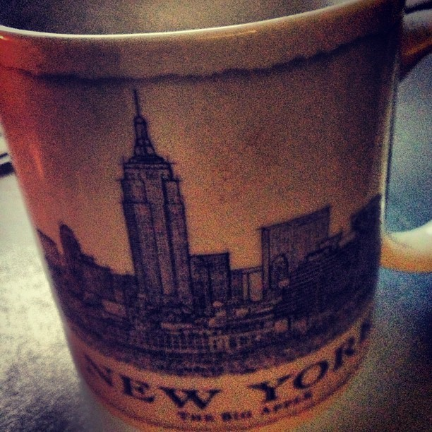 A cup of #tea in my favourite  #starbucks mug :) #instagood