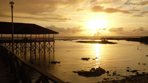 sunrise at Siargao, Philippines