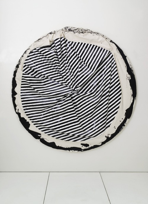 abstraktfeelings:  Steven Parrino, Skeletal Implosion #4, 2001.