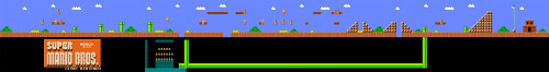 Super Mario Bros. PANORAMA!