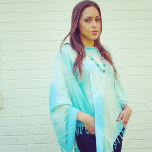 Mondays are all about multitasking. Our Bambi Poncho doubles as a cover-up and triples as a scarf! Spring style? Check! Casual chic? Check! Beach wear? Check!