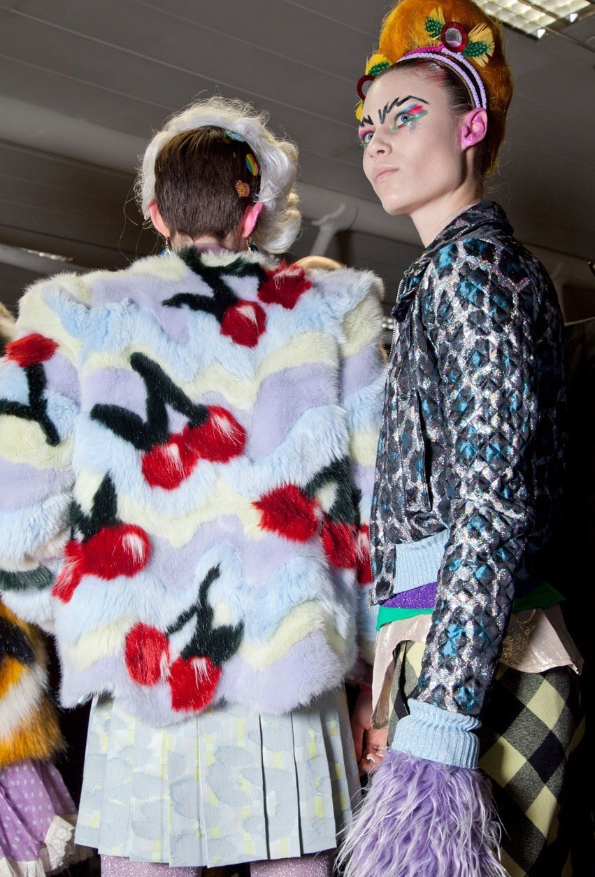 monsieur-j:  Meadham Kirchhoff Fall 2012 Backstage