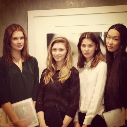 Model castings for our Fall '13 presentation. #12daysofNYFW