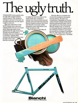 (via ITALIAN CYCLING JOURNAL: Origin(s) of Bianchi Celeste, and more)
