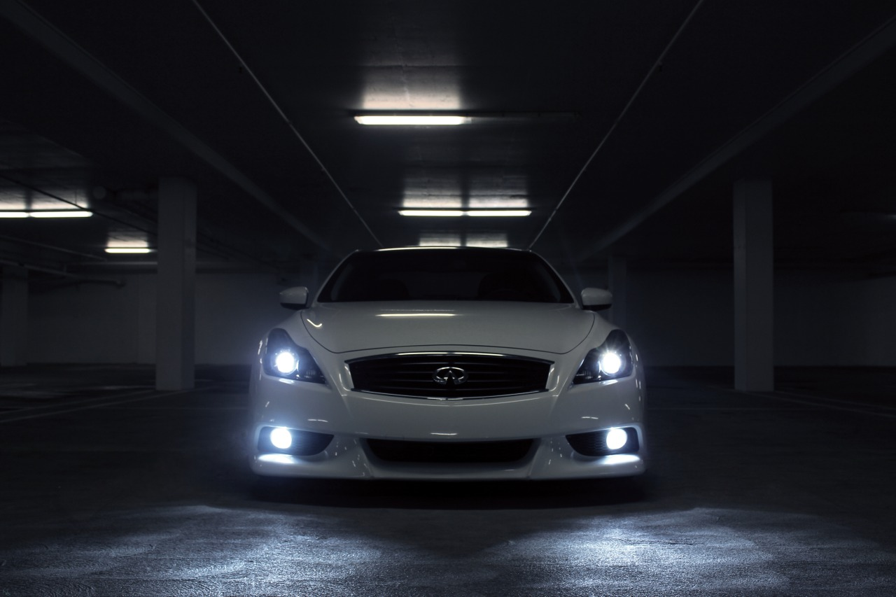 ngwilliam:  Look into my eyes. Photo shoot of Henry's G37S