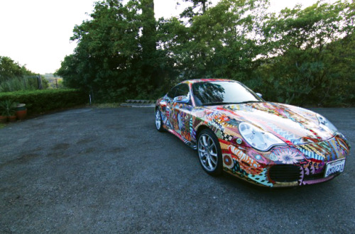 Custom Porsche 911 paint job. Read more on Details.com.