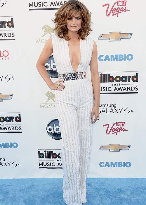 Stana Katic at the 2013 Billboard Music Awards - May 19th.