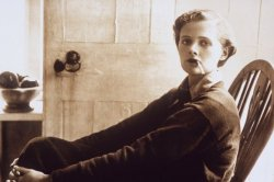 theantidote: Literary Birthday - 13 May Daphne du Maurier, born 13 May 1907, died 19 April 1989 Quotes 1. Women want love to be a novel, men a short story. 2. We are all ghosts of yesterday, and the phantom of tomorrow awaits us alike in sunshine or in shadow, dimly perceived at times, never entirely lost. 3. All autobiography is self-indulgent. 4. It's funny,' I noted in the diary, 'how often I seem to build a story around one sentence, nearly always the last one, too. The themes are a bit depressing but I just can't get rid of that. 5. Life was a series of greetings and farewells, one was always saying good-bye to something, to someone. 6. Sometimes it's a sort of indulgence to think the worst of ourselves. We say, 'Now I have reached the bottom of the pit, now I can fall no further,' and it is almost a pleasure to wallow in the darkness. The trouble is, it's not true. There is no end to the evil in ourselves, just as there is no end to the good. It's a matter of choice. We struggle to climb, or we struggle to fall. The thing is to discover which way we're going. 7. There is no going back in life. There is no return. No second chance. 8. But luxury has never appealed to me, I like simple things, books, being alone, or with somebody who understands. 9. You had to endure something yourself before it touched you. 10. If only there could be an invention that bottled up a memory, like scent. And it never faded, and it never got stale. And then, when one wanted it, the bottle could be uncorked, and it would be like living the moment all over again. du Maurier was an English author and playwright. Many of her books  have been adapted into films, including the novels Rebecca (which won a Best Picture Oscar) and Jamaica Inn and the short stories The Birds and Don't Look Now. by Amanda Patterson for Writers Write (via amandaonwriting:)