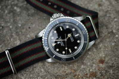 michaelkuhle:  1984 Submariner No Date on Bond Nato Strap