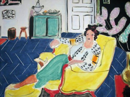urgetocreate:  Henri Matisse - Woman Seated in an Armchair, 1940