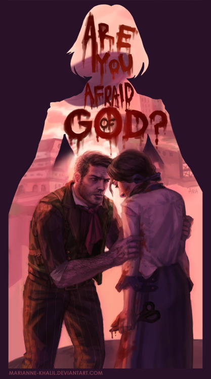 "videogamenostalgia:  BioShock Infinite: Runs in the Family Created by Marianne ""Aria"" Khalil"