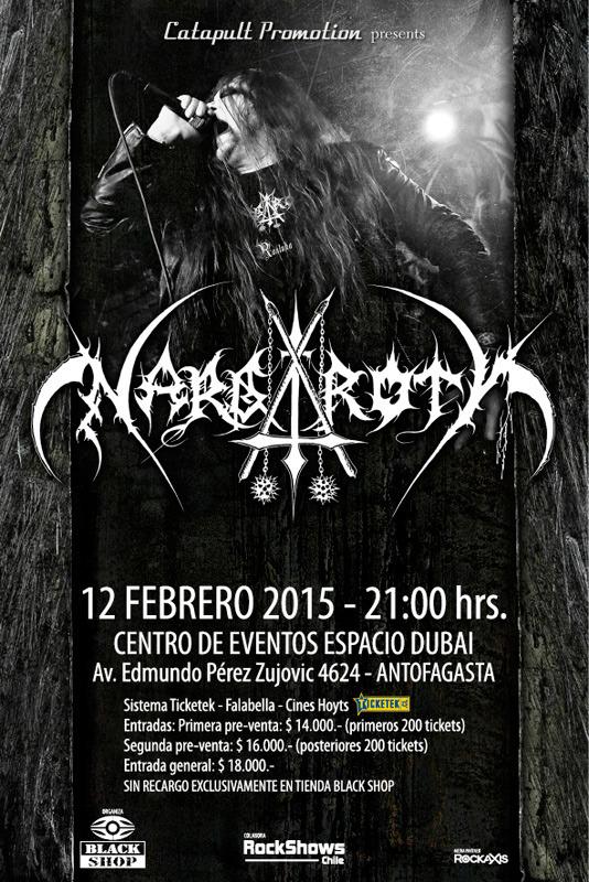Nargaroth en Chile 2015