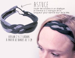 (via Le headband T-Shirt en 15 minutes chrono! – lesfashionbiches.com)