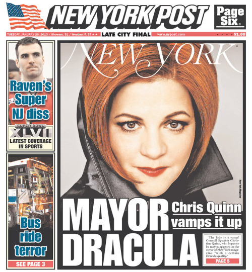 More front pages via Capital New York