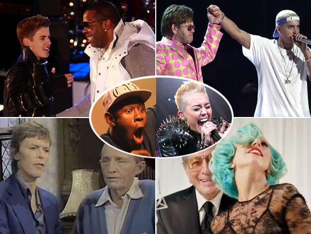 Miley Cyrus + Tyler, The Creator And 17 More Really Weird Musical Hookups