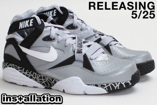 Bo Knows! Nike Air Trainer Max '91 QS NFL, Wolf Grey/White Releasing 5/25 @ Installation Shoe Gallery!