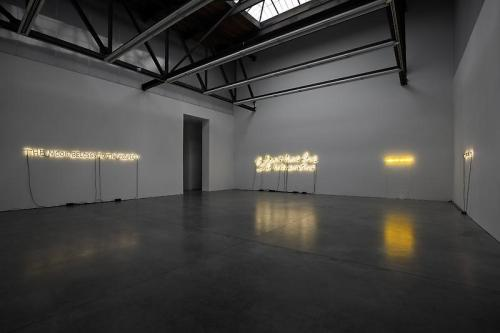 Glenn Ligon's neons at Luhring Augustine, Chelsea, NY Can't wait to go check this show out! I am a huge fan of Ligon's work, ever since I saw his retrospective at the Whitney in Spring 2011.