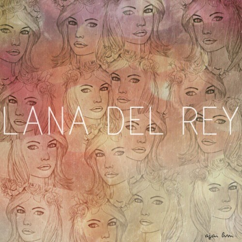 #LanaDelRey #Illustration past work :) Going through my old sketches and found this baby !