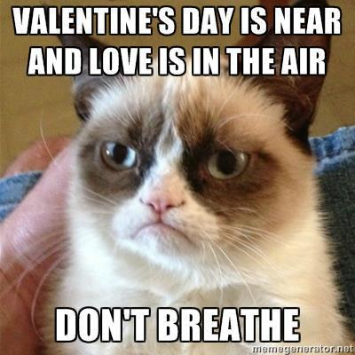 Don't breath Valentine