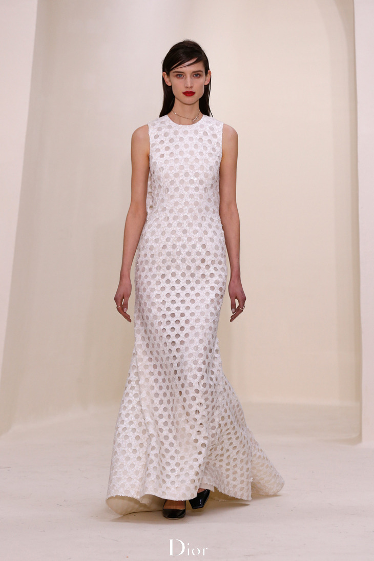 Dior Haute Couture SS 2014 by Raf Simons.Live pictures on http://bit.ly/1aovA0v