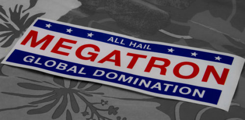 (via Megatron transformers decepticons global domination by DorkDecals)