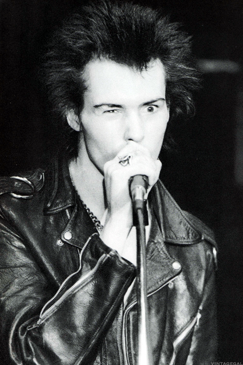 Sid Vicious photographed by Rikki Ercoli, 1978