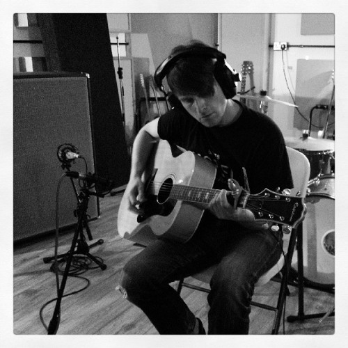 Day 2 progressing nicely with @henrikirgens #studio #recording #epiphone #gefell #m300 #doubletrack (at Press Play Studio)