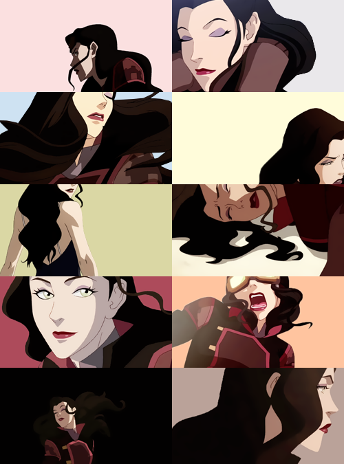 screencap meme#13. hair porn + asami sato - asked by spinneret