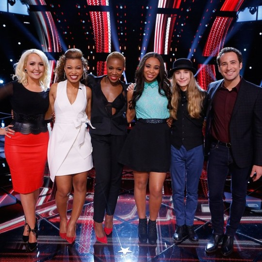 The Voice Season 8 Top 6