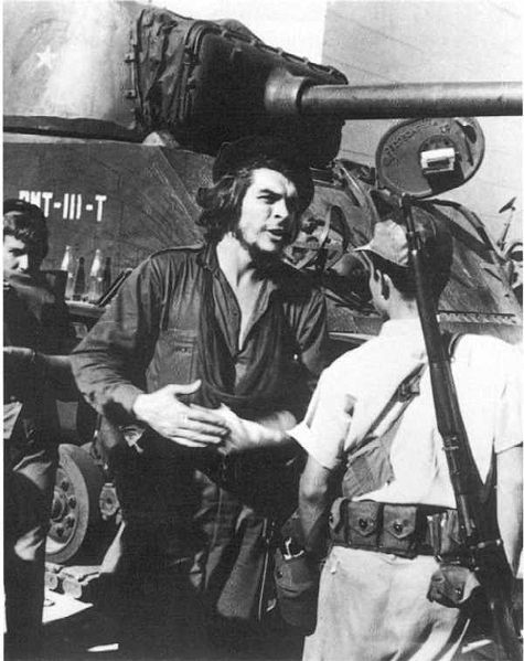 redslice:  Guevara after the Battle of Santa Clara , 1959
