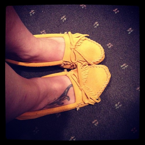 My new loves. #mustard #mocs #moccasins #shoes #footwear