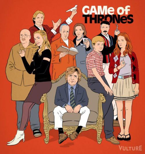 thebluthcompany:  Game of Thrones re-imagined as Arrested Development. [via]
