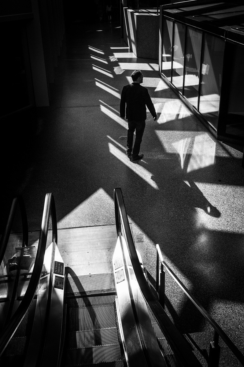Shadow walker, Pittsburgh, PA Leica M9 + 35mm Summicron